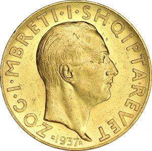 Albania Zog I gold 100 Franga Ari ...